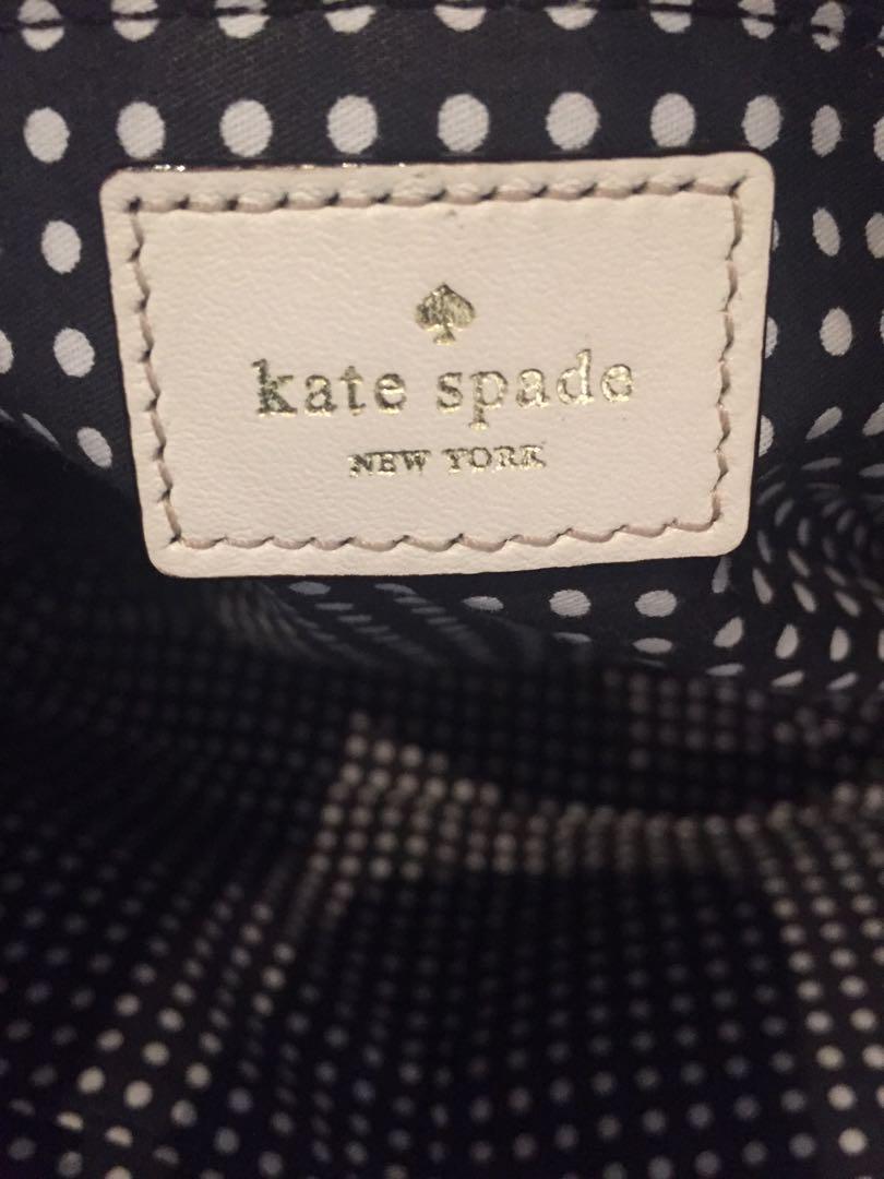 Kate Spade purse white