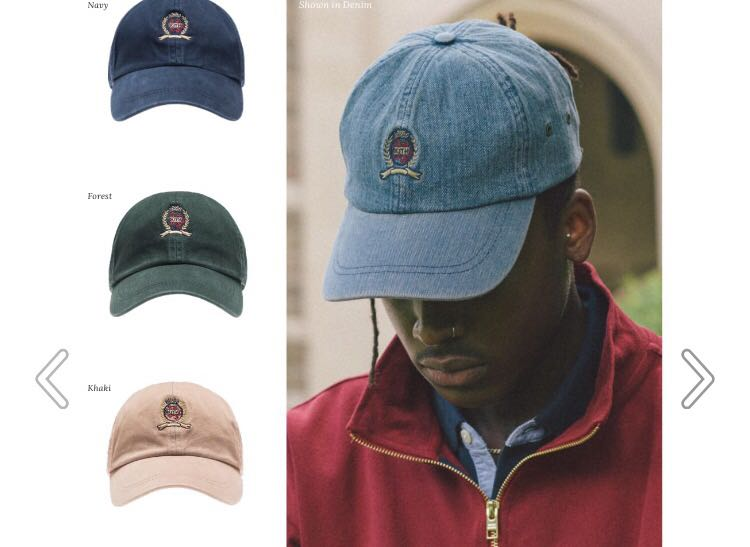 980875570 Kith x Tommy Hilfiger baseball cap, Men's Fashion, Accessories, Caps ...