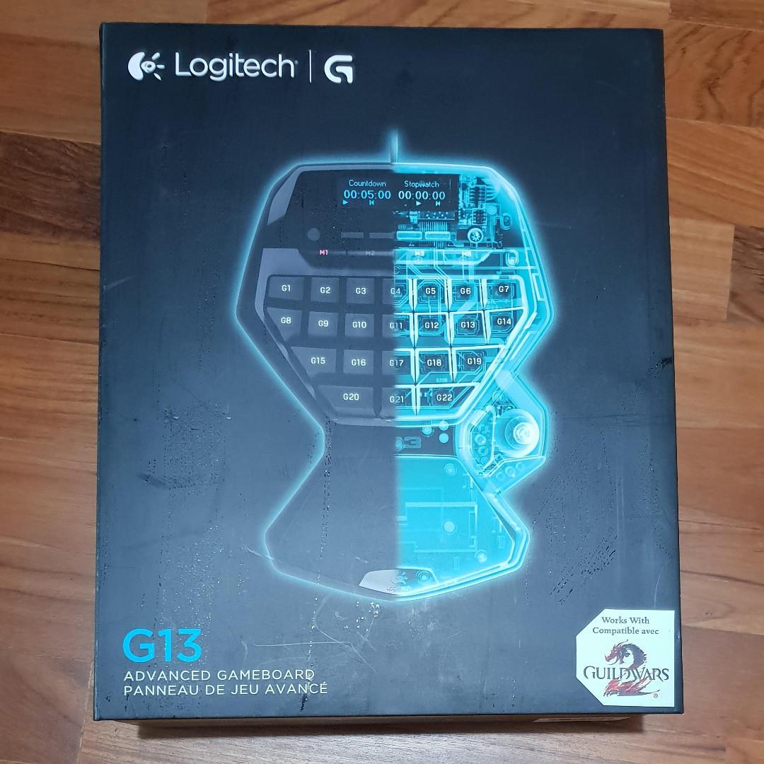Logitech G13 Gameboard (gaming keyboard), Electronics