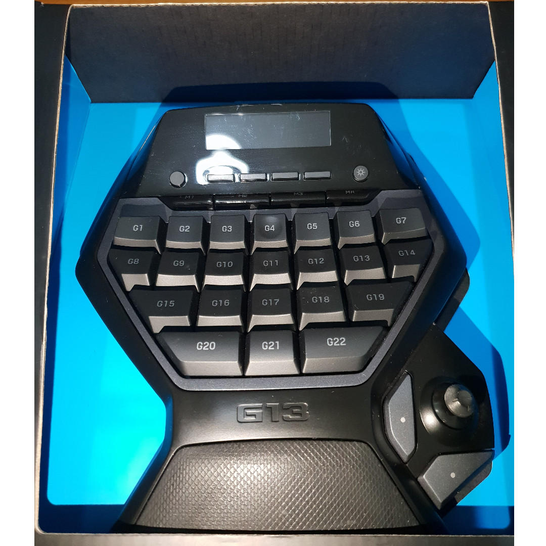 Logitech G13 Gameboard (gaming keyboard), Electronics