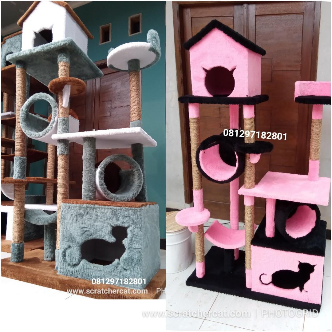 Mainan kucing,cat scracher,cat condo