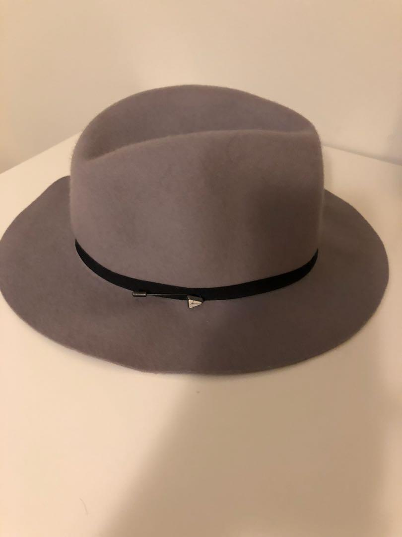 MAISON SCOTCH GREY HAT