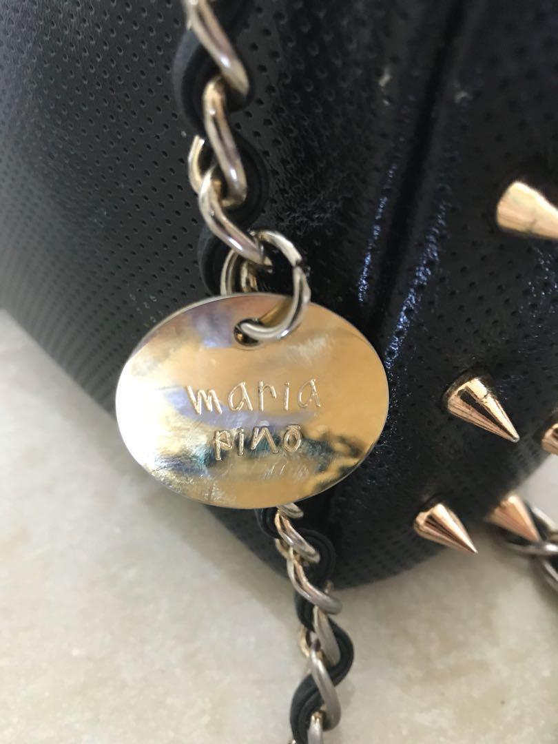 Maria pino Woman spiked bag