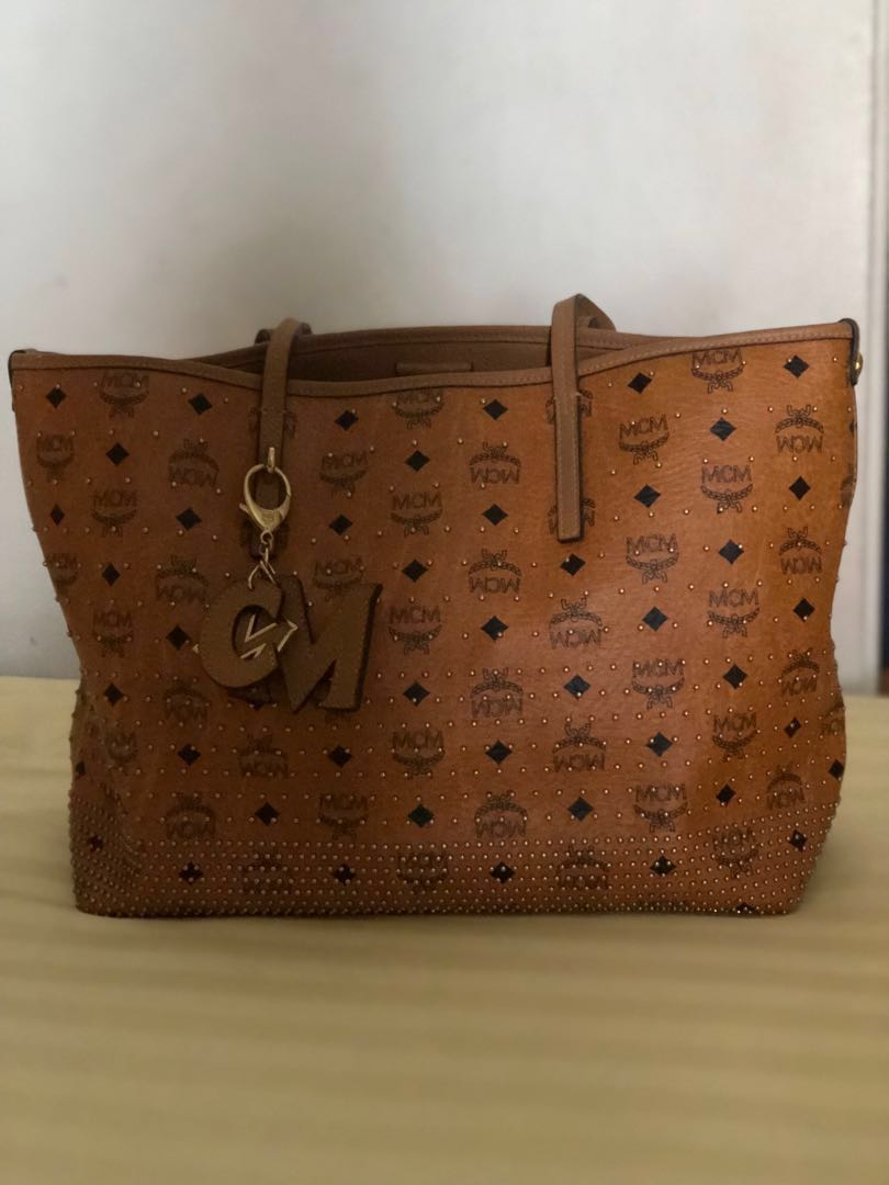 0d475a7b2079a MCM Tote Bag incld courier fee