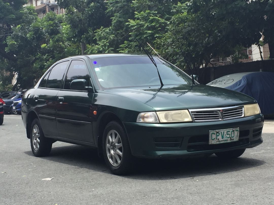 Mitsubishi Lancer Glx 2000 model Manual, Cars, Cars for Sale on Carousell