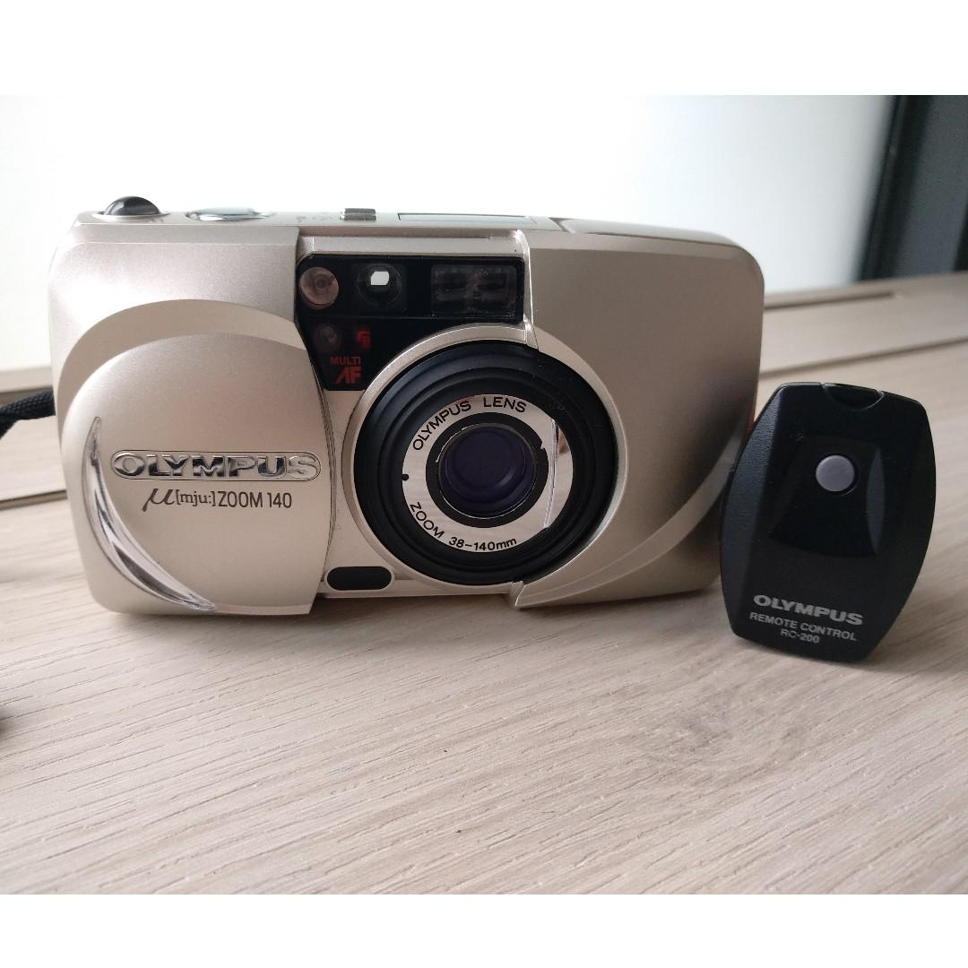 Olympus Mju Film Zoom 140 Camera with Zoom 38-140mm with