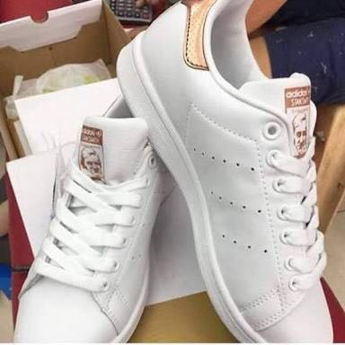Original Adidas Stan Smith (rose gold), Women's Fashion, Shoes on Carousell