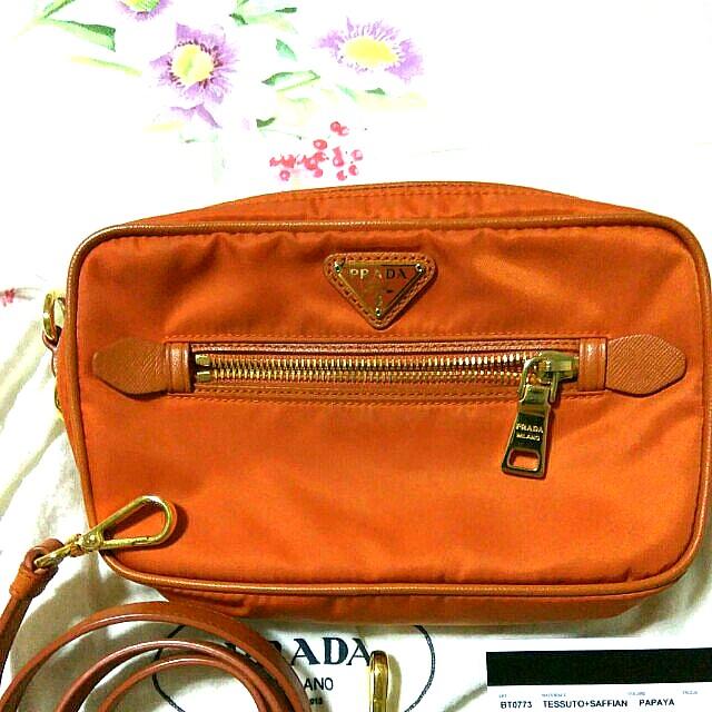 133f7b0680d9 Prada, Luxury, Bags & Wallets, Sling Bags on Carousell