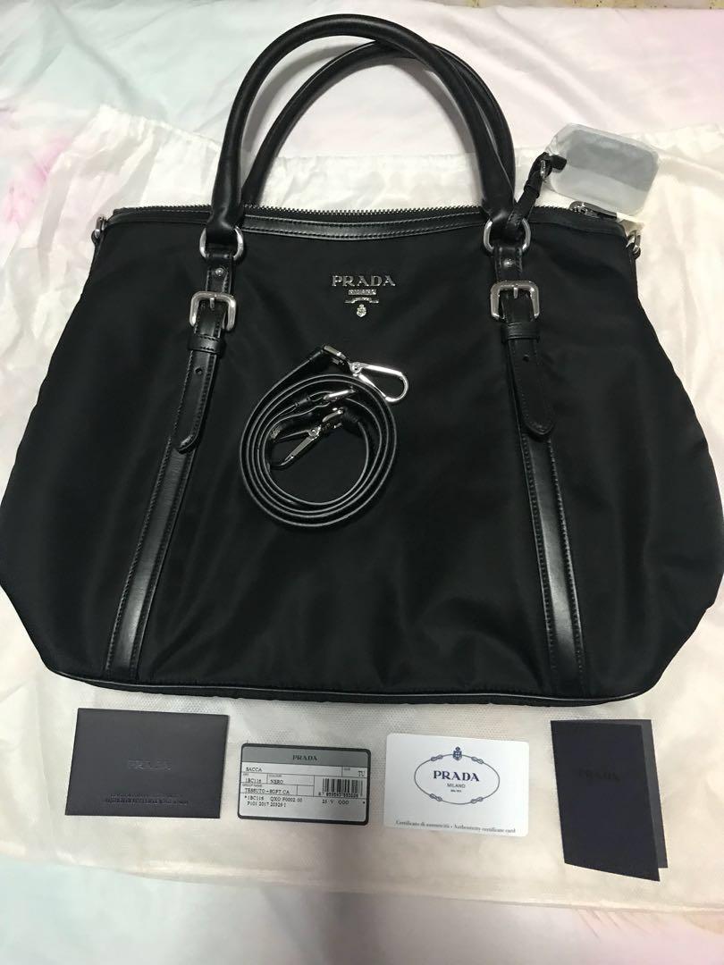 add644a05bef0b Prada 1BC116 Tessuto Nylon Convertible Bag [NEW], Luxury, Bags ...