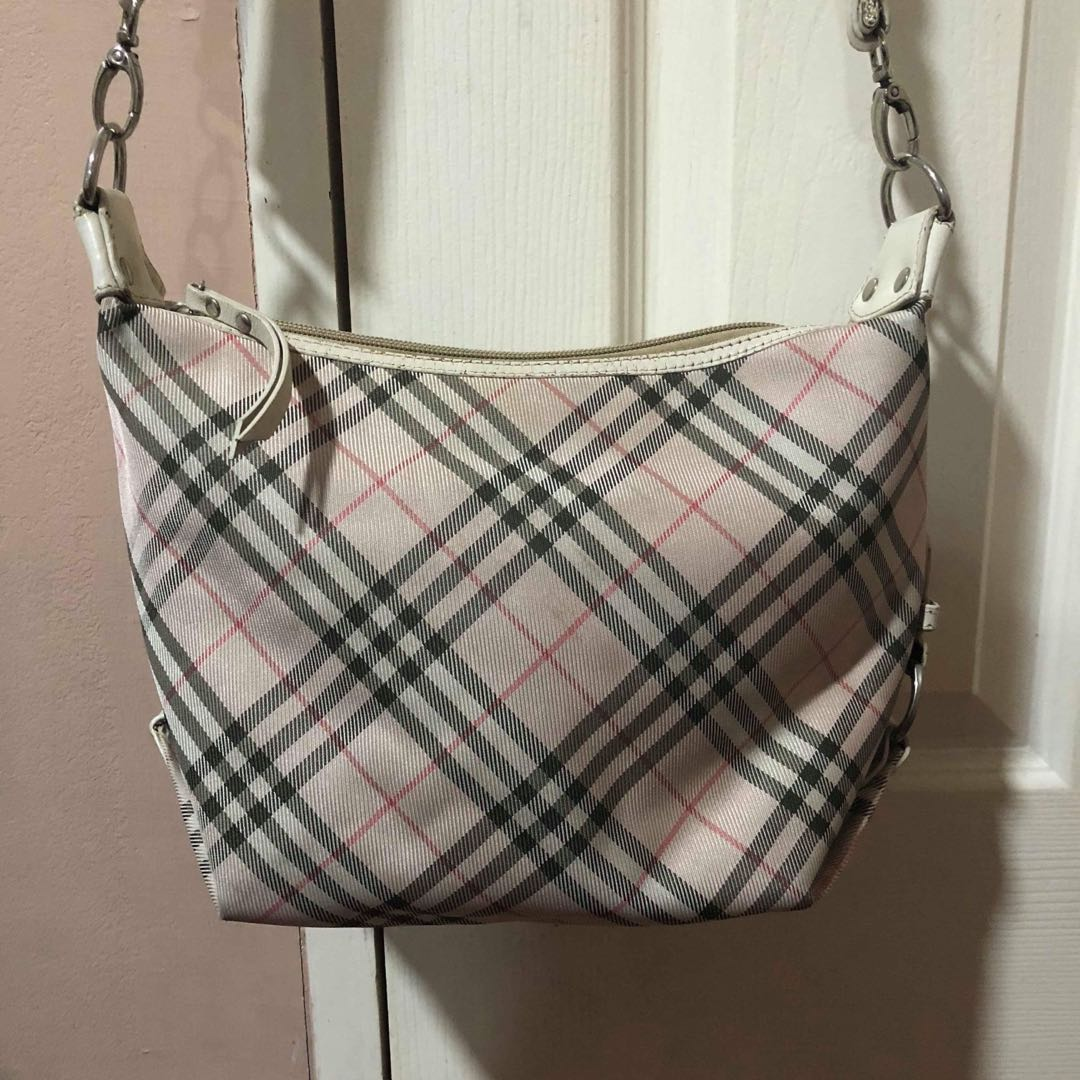 0bad4372652 Pre owned Burberry sling bag, Luxury, Bags & Wallets on Carousell