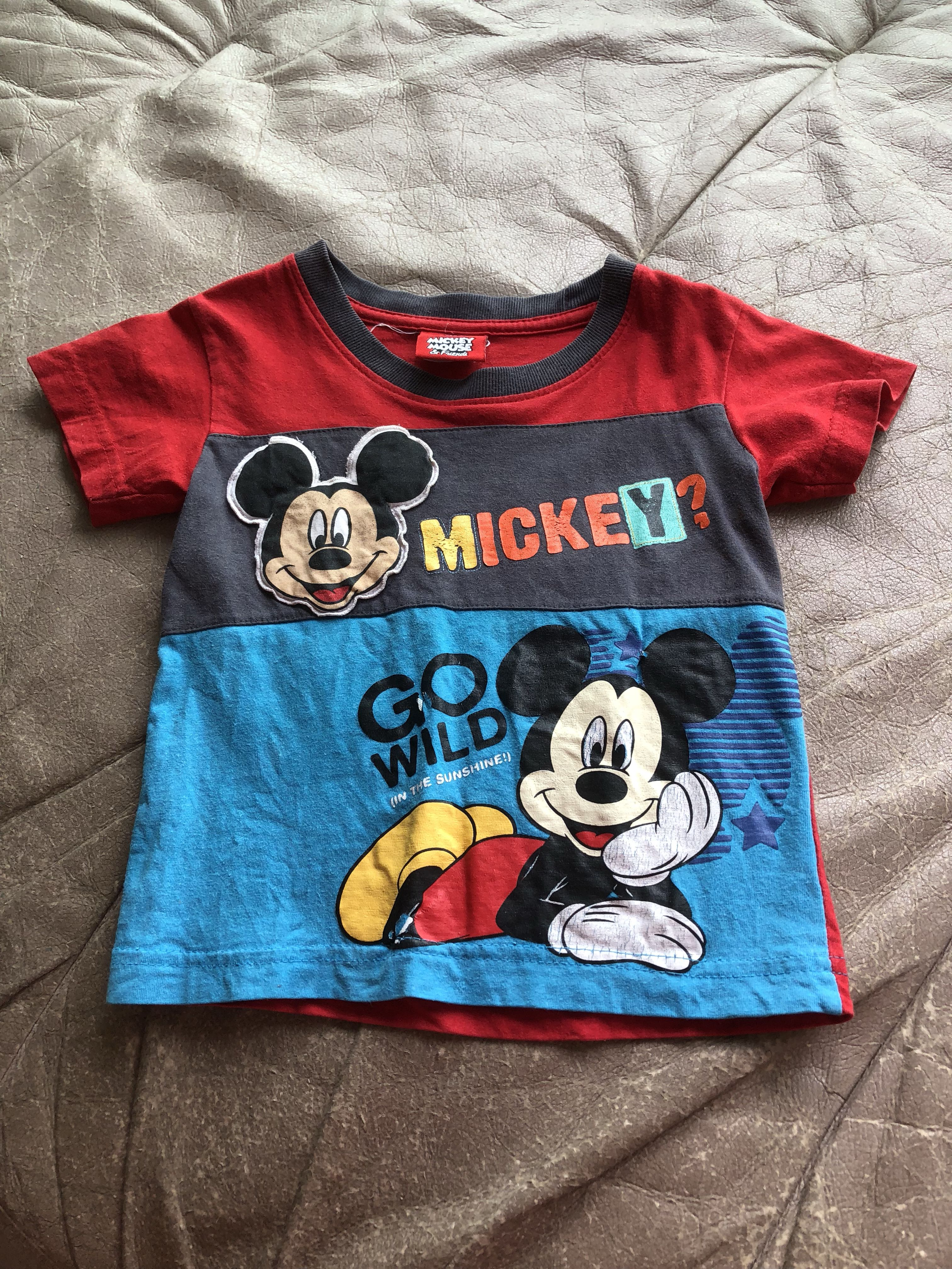 6f153d7a9 Mickey Mouse Kids Character Shirts & Clothing - Macy's