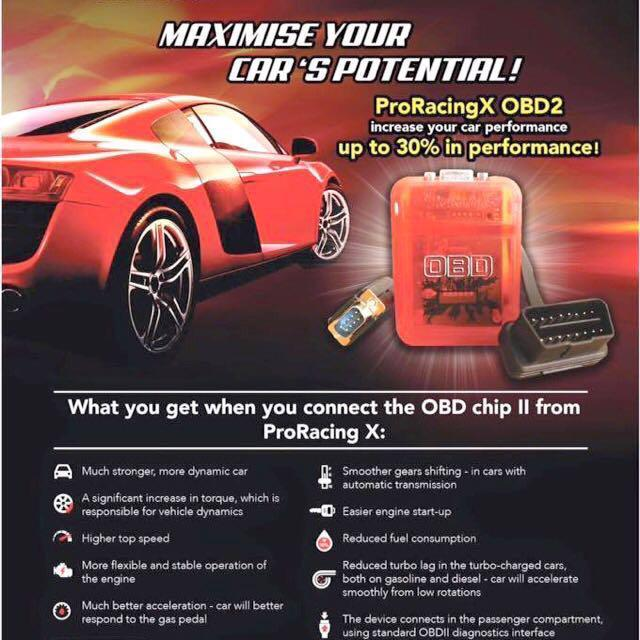 Pro Racing OBD Tuning Chip, Car Accessories, Accessories on