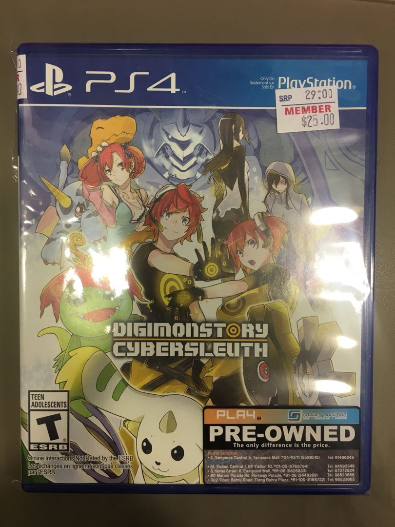 Ps4 Digimonstory Cybersleuth Toys Games Video Gaming The Last Guardian Reg 3 On Carousell