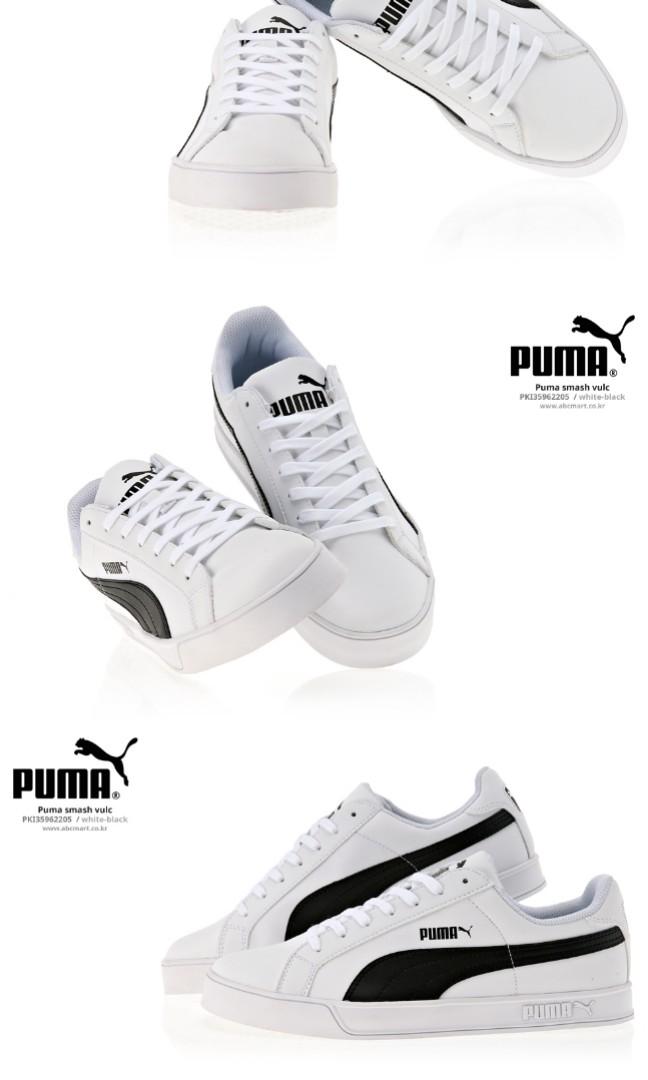 wholesale dealer 4eba0 003e1 Puma Smash Vulc Black-White 359622