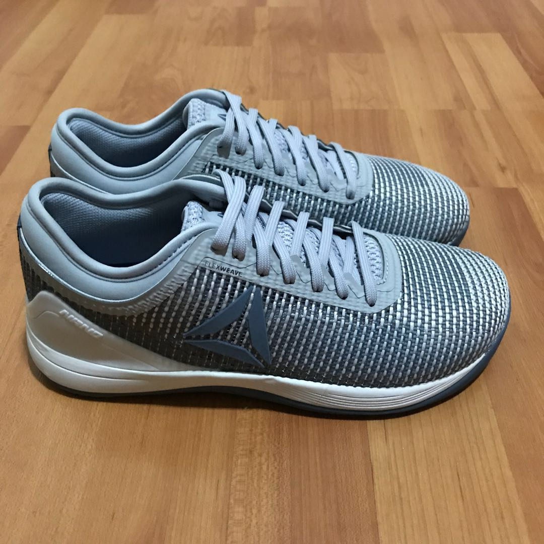 1ff7b91999 Reebok CrossFit Nano 8.0 Grey/Blue shoe women US7/UK4.5/EUR 37.5 NEW ...