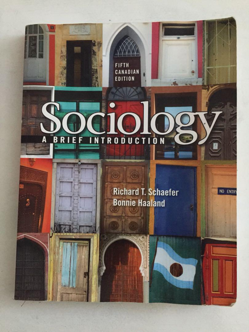 SOC105 - sociology: a brief introduction 5th edition