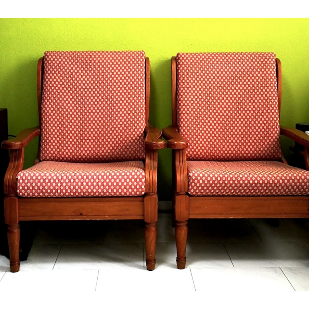 Solid Wood 3 2 Settee For Quick Sale