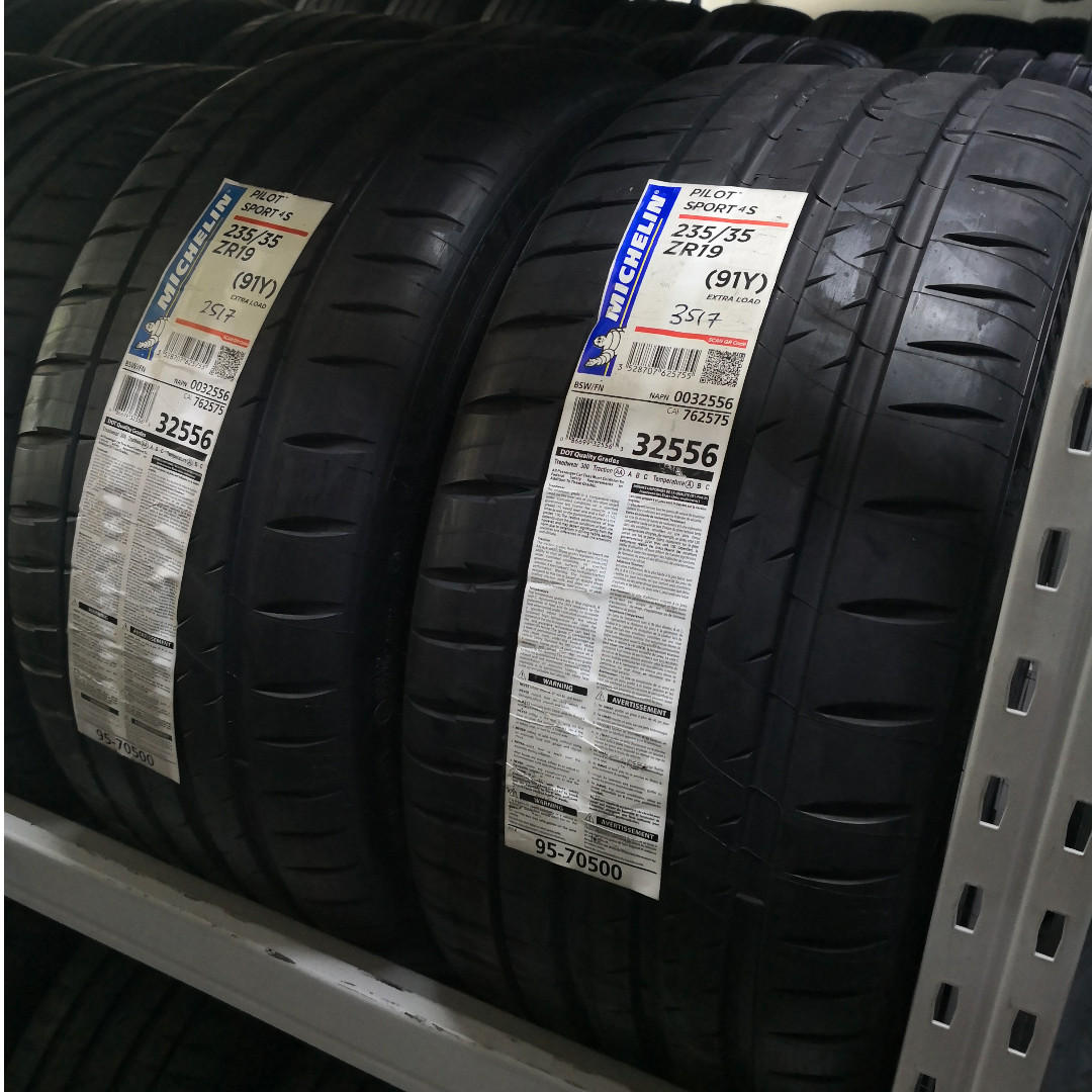 Stock Clearance Promo! Michelin PS4S 235/35R19