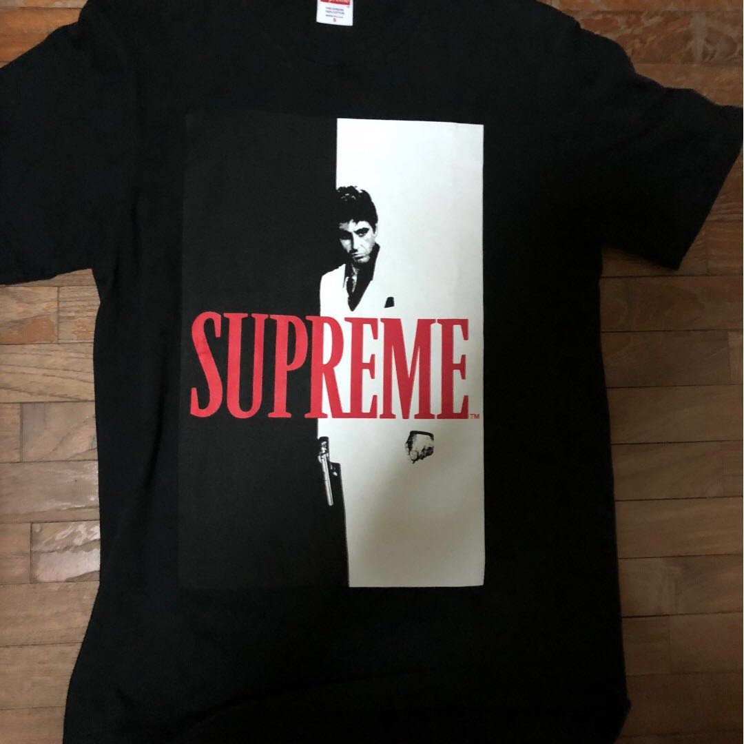 7450f4e39f8a Supreme Scarface Tee, Men's Fashion, Clothes, Tops on Carousell