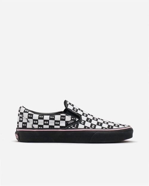Vans X Lazy oaf classic slip on checkerboard 065540ab33