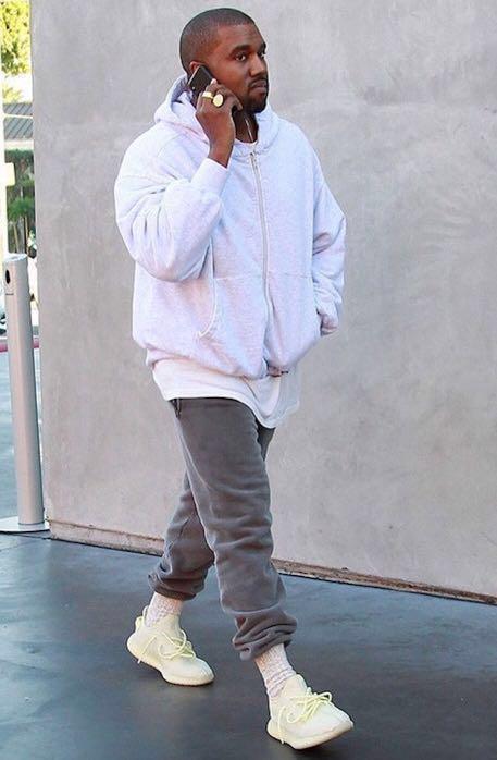 butter yeezy hoodie