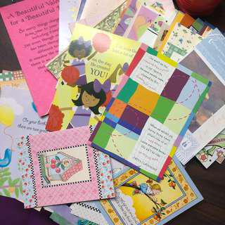 Take all 100 pcs Assorted Greeting Cards