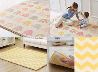 韓國 Parklon 雙面加大超厚高級PVC嬰兒爬行墊/兒童遊戲墊