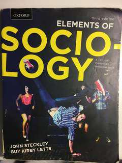 Elements of Sociology