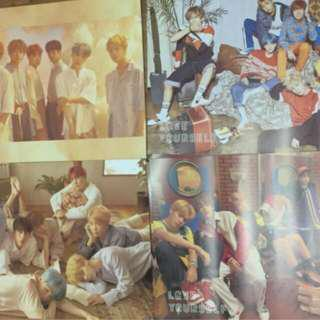 💣 WTS 💣 bts her l o v e posters