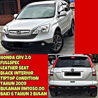HONDA CRV 2.0 FULLSPEC SAMBUNG BAYAR / CONTINUE LOAN