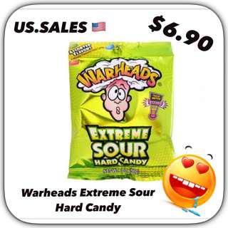 Warheads Extreme Sour Hard Candy from 🇺🇸
