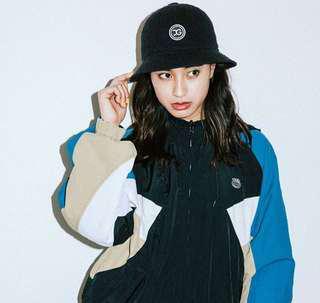 X-girl 日牌 日本帶回鐘型帽 漁夫帽黑色 近全新
