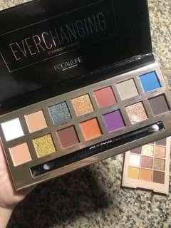 FOCALLURE EVERCHANGING 14 COLORS EYESHADOW PALETTE