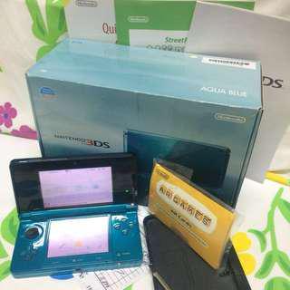 Nintendo 3ds Aqua Blue (Old Regular Version)