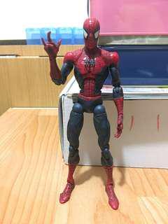 """toybiz 6"""" super poseable spider-man marvel legends loose"""