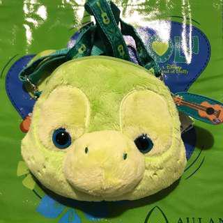 Disney Aulani Olu (duffy Friends) ID strap bag 美國迪士尼樂園 夏威夷 小海龜掛頸袋