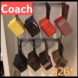 Coach wristlet $265