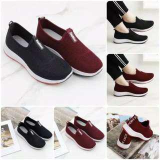 sepatu fashion 901 wrna maroon sze 36  (23cm)