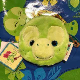Disney Aulani Olu (duffy Friends) coins bags 美國迪士尼樂園 夏威夷 小海龜 散子包