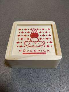 全新Movenpick 木制兒童膠印套裝