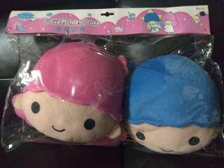 SANRIO Little Twin Stars Head Cushions