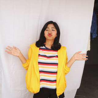 Yellow Vintage Jacket (jaket kuning)