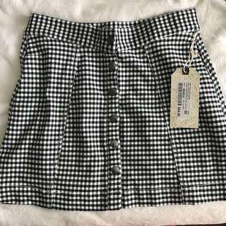 Harlow Checkered Skirt