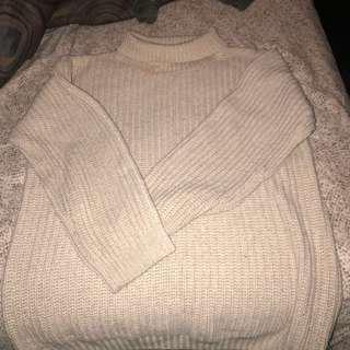 Aritzia Golden sweater