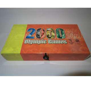 MTR 2000年奧運紀念地鐵模型列車 + 紀念套票5張 Olympic Games
