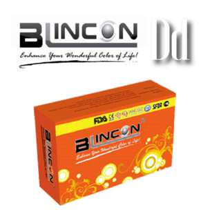 VALUE PACK Blincon DD 3 Months Colour Lens -1.50 + LENS SOLUTION 60ml #mcsbeauty