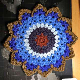 自家製作。人手編織。。枱墊。#9
