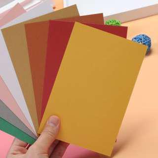 Plain Colored Cards