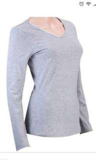 Cotton On Grey Long Sleeve Shirt