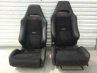 R205 Seat halfcut condition